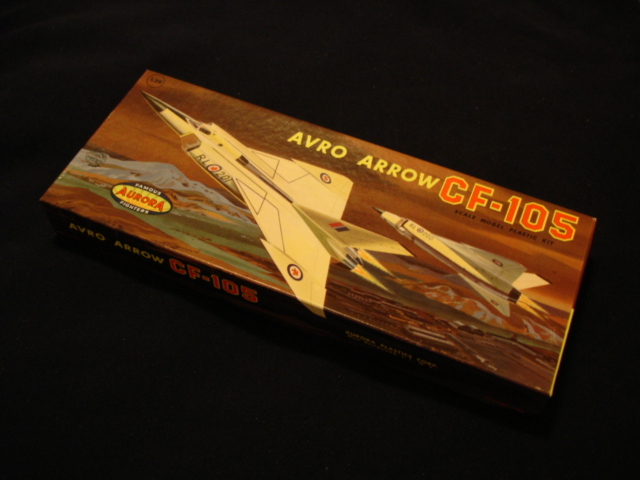 AVRO ARROW AIRCRAFT ARROWS 6 EASY TO BUILD PAPER MODELS RCAF ...